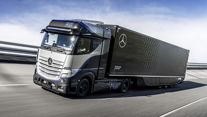 Daimler Trucks Hidrojen Bazlı Yakıt Hücrelerine Güveniyor