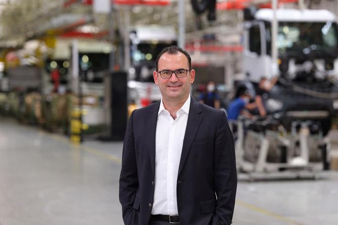 Mercedes-Benz Türk Aksaray Fabrika Direktörü / İcra Kurulu Üyesi Uluç Batmaz