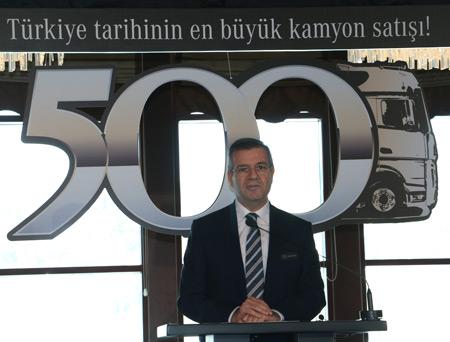 Mercedes-Benz Türk Kamyon Satış ve Pazarlama Direktörü Bahadır Özbayır