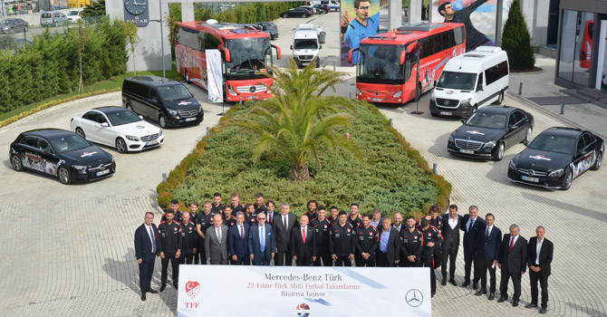 TFF Ana Sponsoru Mercedes Benz İle Sözleşme Uzattı