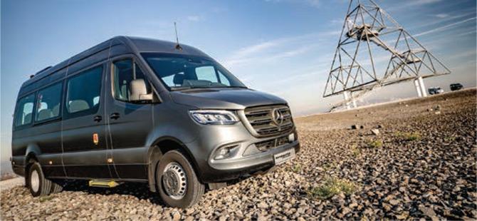 Mercedes-Benz Yolcu Araçlarıyla Test Sürüşü Deneyimi