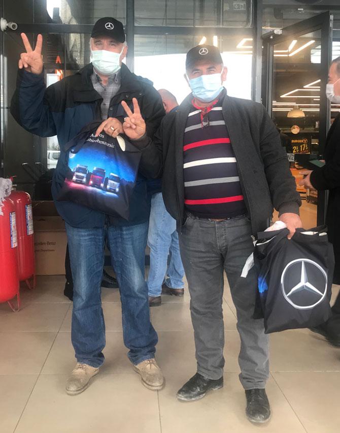 Mercedes-Benz Türk Kamyon Sürücülerine Desteğini Sürdürüyor