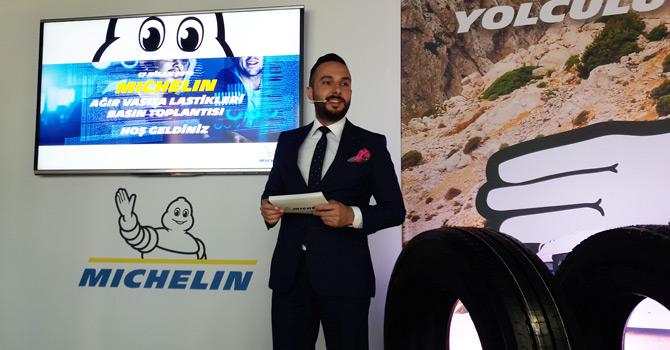 Michelin Türkiye Ağır Vasıta Ürün Teknik Müdürü Recep Uçan