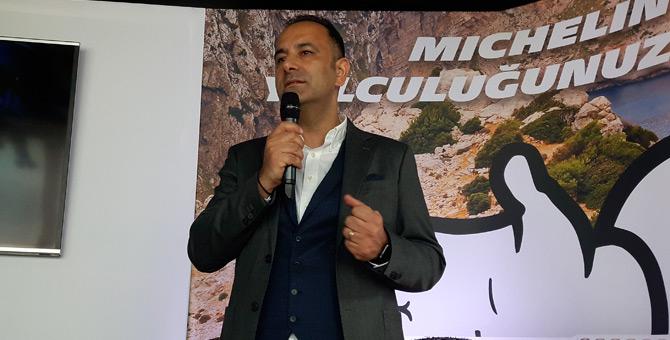 Michelin Türkiye Ağır Vasıta Lastikleri Ticari Direktörü Sertan Akçagöz
