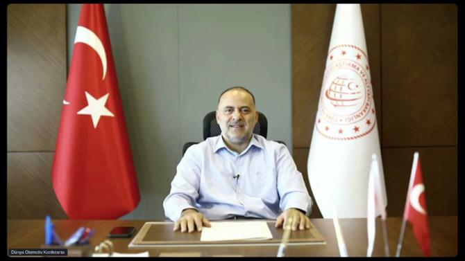 T.C. Ulaştırma ve Altyapı Bakanlığı Bakan yardımcısı Dr. Ömer Fatih Sayan
