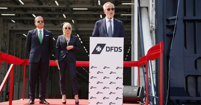 DFDS Denizcilik Bölüm Başkanı Peder Gellert Pedersen