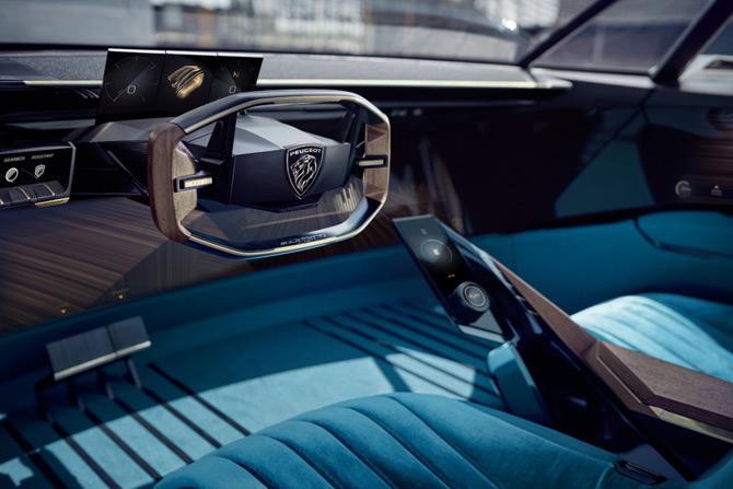 Peugeot e-Legend Concept #Unboring the future