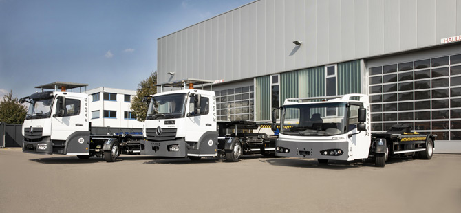 transport logistic 2019: Kamag presents two versions of the Wiesel