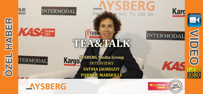 Tea & Talk 2018; Port de Marseille Ticaret Direktörü Fatiha Jaureguy (video)