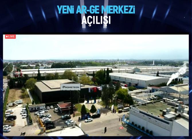 Prometeon Yeni Ar-Ge Merkezinin Açılışını Gerçekleştirdi