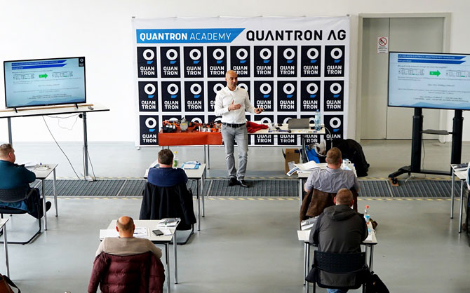 QUANTRON Academy: the new e-mobility training centre for truck and bus specialists