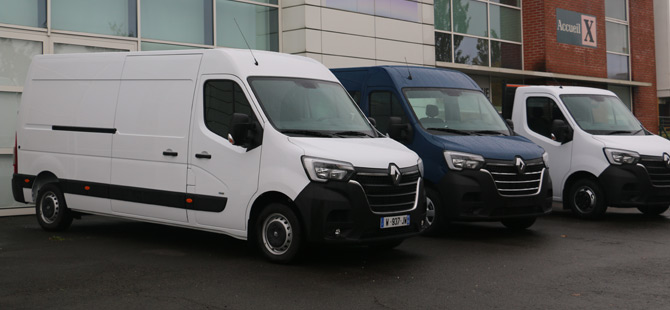 Renault Master ve Kangoo'ya Hidrojenli Hibrit Kardeşler Geliyor