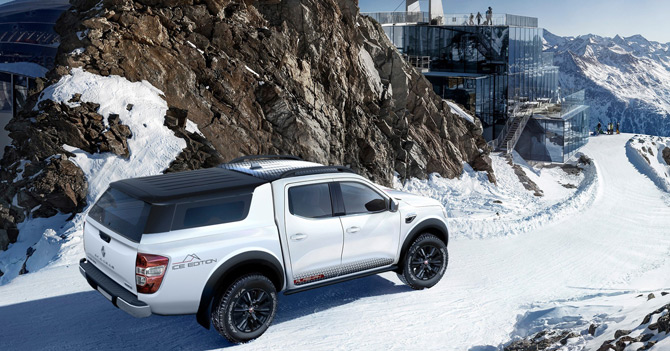 """Renault'dan Yeni Bir Özel Seri """"Alaskan Ice"""""""