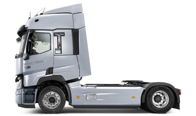 2020 Model Renault Trucks Çekiciler İle Düşük Yakıt Tüketimi