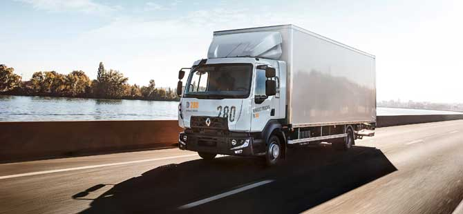 Renault Trucks D-MED Kamyonu İle Türkiye Turunda
