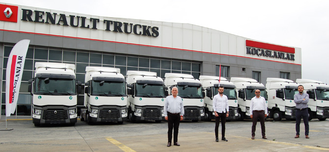 ECS Uluslararası Nakliyat Filosunu Renault Trucks İle Güçlendiriyor