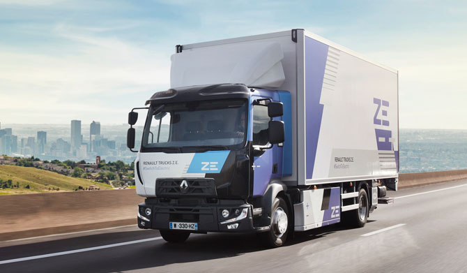 Renault Trucks, elektrikli mobiliteye yoğun olarak yatırım yapmayı sürdürüyor