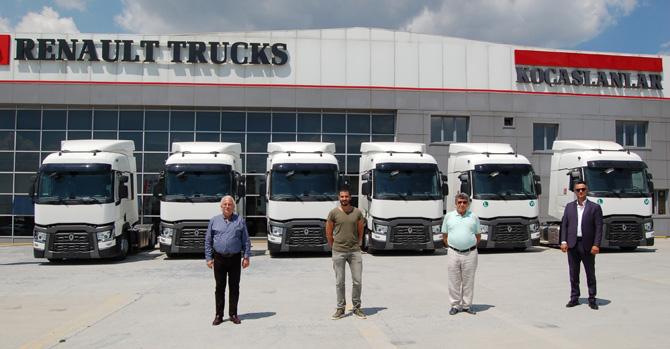 Gelişim Lojistik Renault Trucks'ı Tercih Etmeye Devam Ediyor
