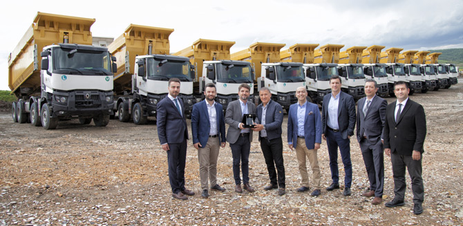 Güvensoy İnşaat'ın Tercihi Renault Trucks K Serisi