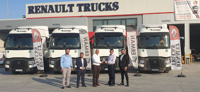 İmsan Group, yeni Renault Trucks çekicileri ile uluslararası taşımacılık operasyonlarına devam ediyor.