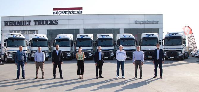 ITT'nin Filosu Yüzde Yüz Renault Trucks Çekicilerden Oluşuyor
