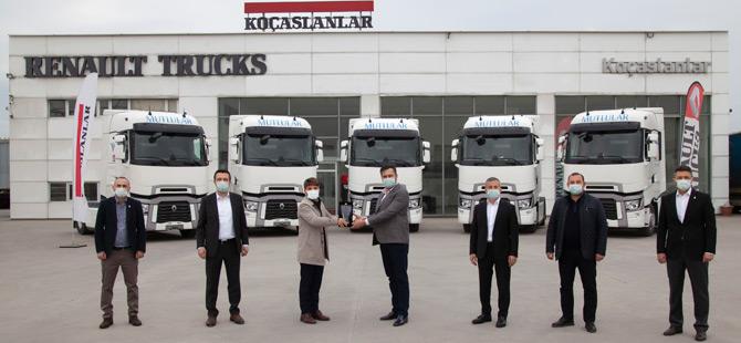 Mutlular Transport Filosunu Renault Trucks Çekicilerle Güçlendirmeye Devam Ediyor