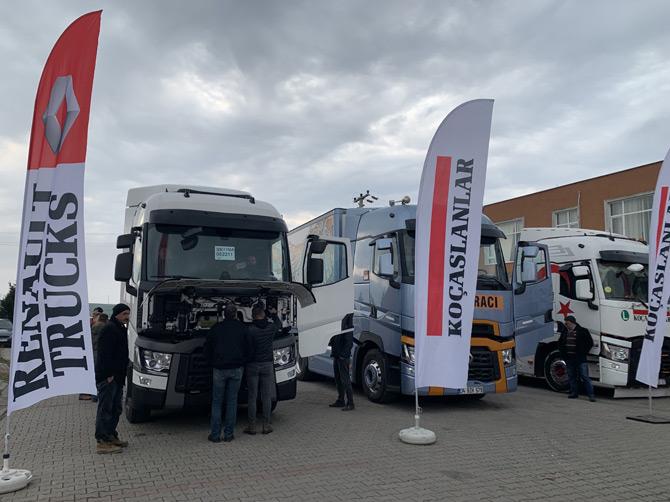 Renault Trucks Çekicileri Tanıtmaya Devam Ediyor