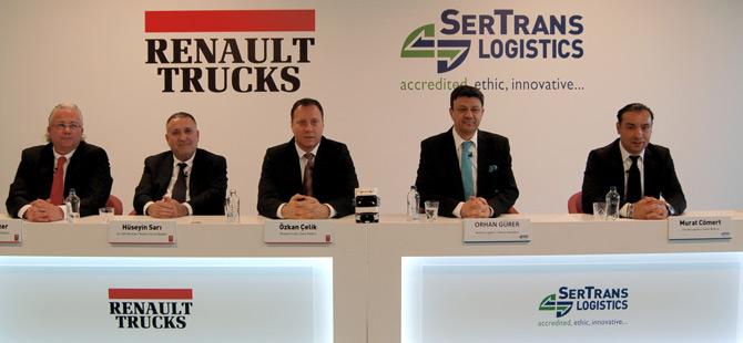 Renault Trucks'tan Sertrans Logistics'e Dev Teslimat