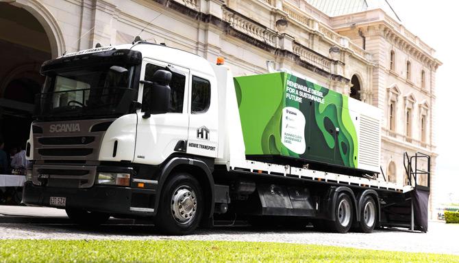 Scania Atık Plastikten Biyoyakıt Üretimine Destek Veriyor