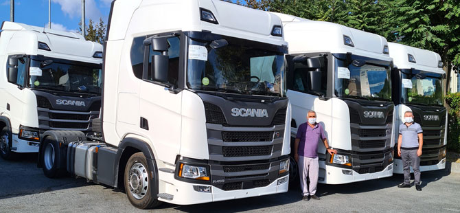 Doğan Taşımacılık 6 Yeni Scania İle Filosunu Güçlendirdi