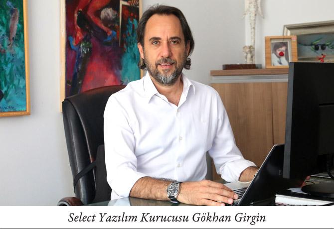 Select Yazılım Kurucusu Gökhan Girgin