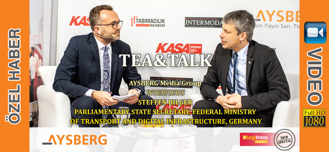 Tea & Talk 2018; Parliamentary State Secretary at the Federal Ministry of Transport and Digital Infrastructure of Germany, Steffen Bilger (video)