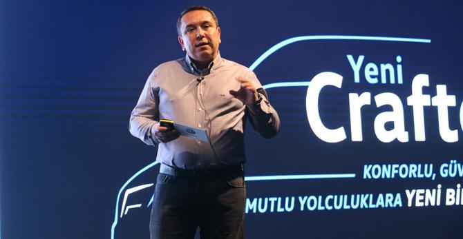 Volkswagen Ticari Araç Pazarlama Müdürü Taner Kozlan