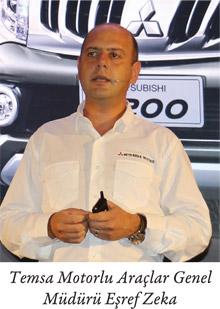 Temsa Motorlu Araçlar Genel Müdürü Eşref Zeka
