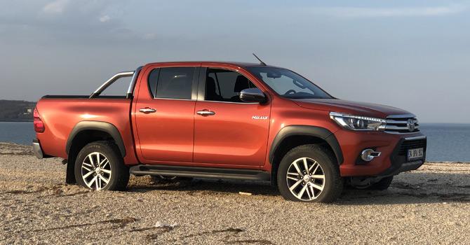 Toyota 50'nci Yıla Özel Hilux Test Sürüşü