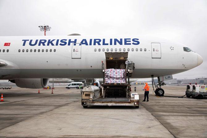 Turkish Cargo, Türk Hava Yolları'nın Dünya İle Kurduğu Hava Köprüsünü Kargo Taşımacılığı Alanında Sürdürmeye Devam Ediyor