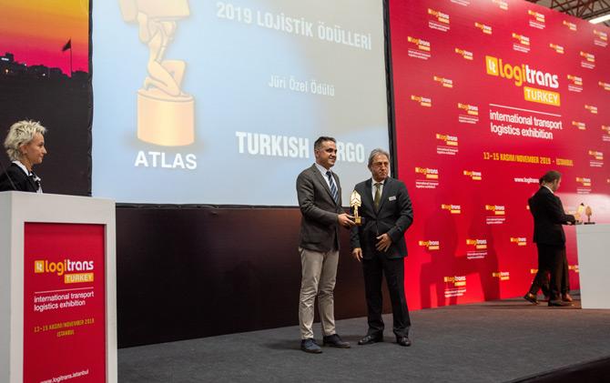 Turkish Cargo ''logitrans 2019'' Fuarına Katıldı