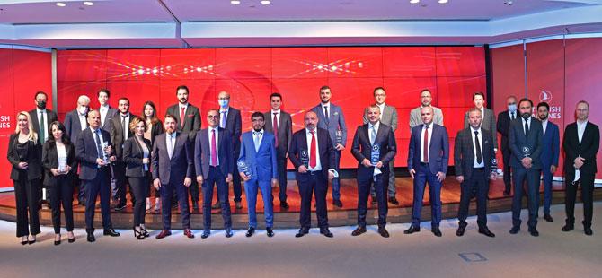 Turkish Cargo, Acente Ödül Töreni'nde İş Ortaklarıyla Bir Araya Geldi