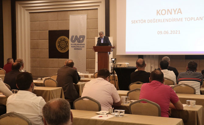 UND Başkanı Nuhoğlu Konya'da Nakliyecilere Seslendi: İşinize Göz Dikenlere İzin Vermeyin!