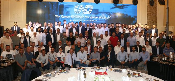 UND Başkanı Çetin Nuhoğlu Sektör Değerlendirme Toplantılarına Gaziantep ile devam etti.