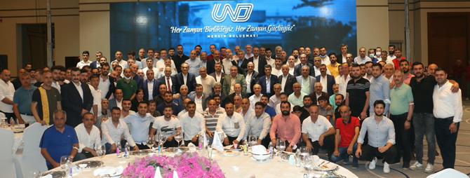 UND Başkanı Çetin Nuhoğlu Sektör Değerlendirme Toplantılarına Mersin ile devam etti.