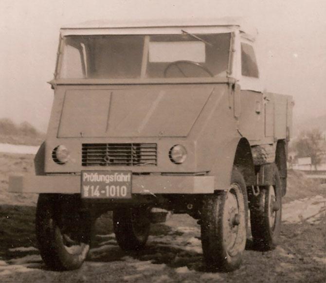 unimog prototipi aralik 1946