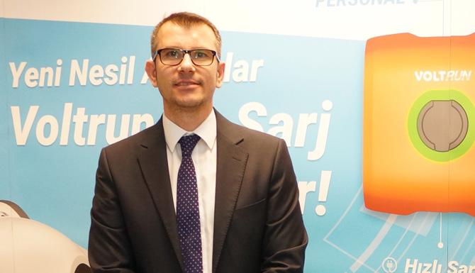 Voltrun Satış ve Pazarlama Direktörü Veysel Yurdagel