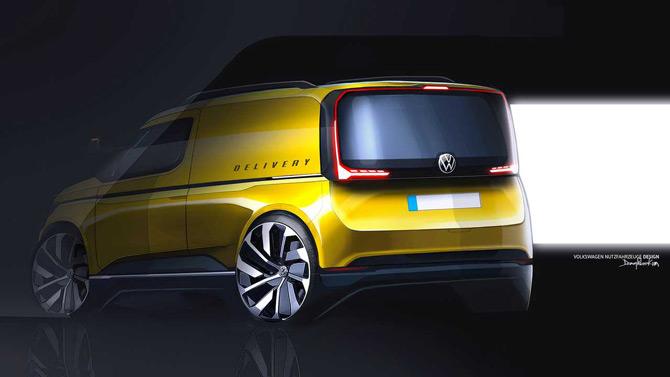 Volkswagen Caddy Yeni Yüzünü Gösterdi