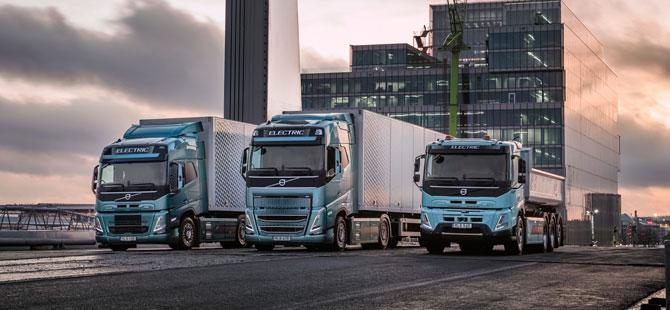 Volvo Trucks Karayolu Taşımacılığında Elektrikli Araçlara Geçmeye Hazırlanıyor