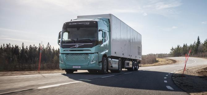 Volvo Trucks Elektrikli Konsept Kamyonlarını Görücüye Çıkardı