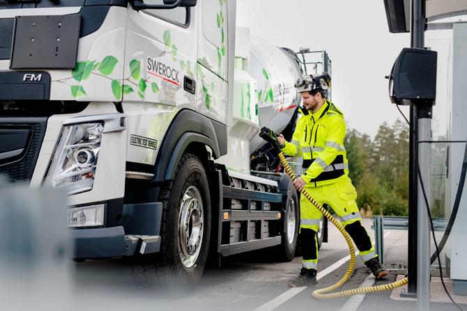 Volvo Trucks Elektrikli Kamyonlara Geniş Ürün Yelpazesiyle Geçecek