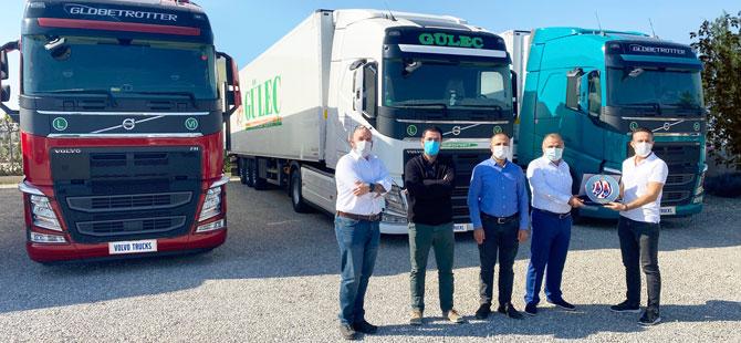 Güleç Transport Volvo FH Çekicilerle Filosunu Güçlendirdi