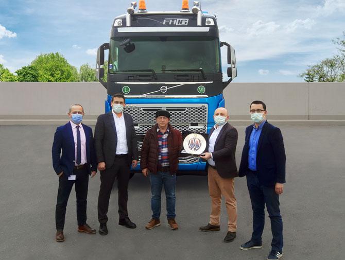 Zafer Kardeşler Uluslararası Ağır Nakliyat Yine Volvo Trucks'ı Tercih Etti
