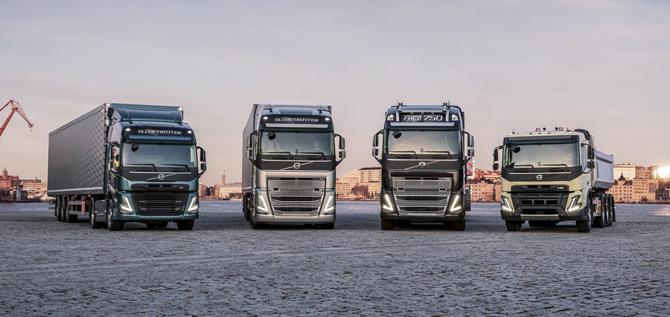 Yeni Nesil Volvo Trucks Kamyon ve Çekiciler Tanıtıldı